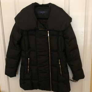 Cole Haan Black Puffer Jacket - Size: Small